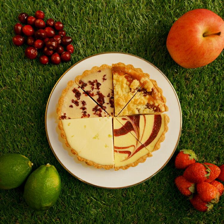 繽紛四巧福6吋【美地瑞斯】檸檬、草莓、蘋果、蔓越莓多重口味組合,讓您的味蕾一次滿足!#免運 2