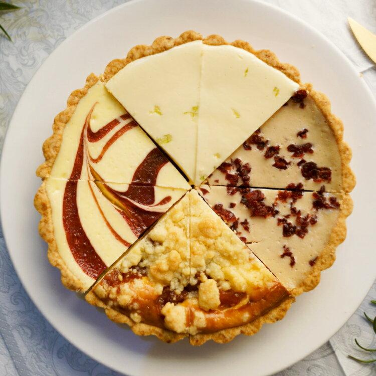 繽紛四巧福6吋【美地瑞斯】檸檬、草莓、蘋果、蔓越莓多重口味組合,讓您的味蕾一次滿足!#免運 1