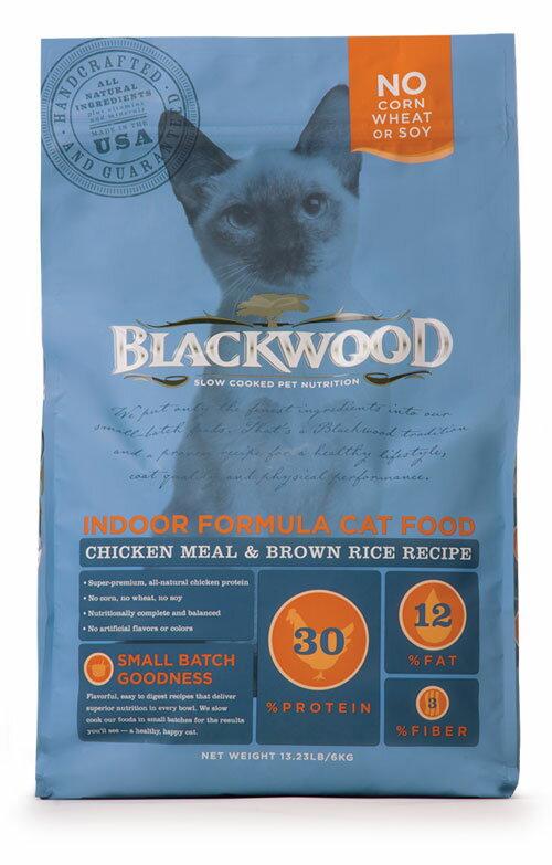 柏萊富Blackwood 室內貓全齡優活配方(雞肉+糙米)