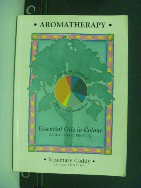 【書寶二手書T8/養生_KLI】Essential Oils in Colour_Rosemary Caddy