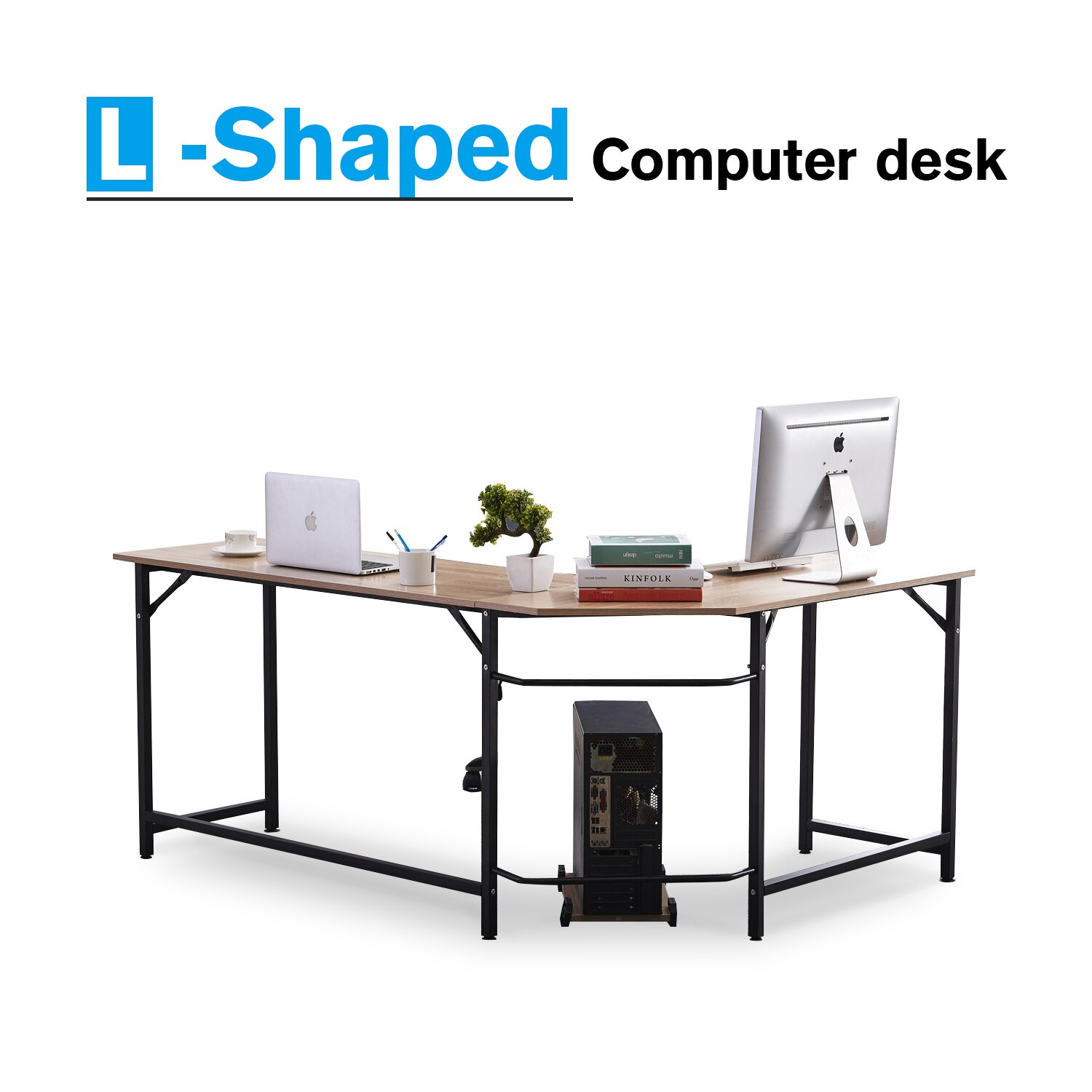 Office study desk Office Furniture Office Desk Lshape Corner Computer Pc Latop Study Table Workstation Home Office Wood Rakutencom Mcombo Office Desk Lshape Corner Computer Pc Latop Study Table