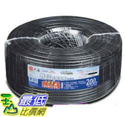 [106玉山最低比價網] PX大通 168編織 同軸電纜線200米 5C-200M(CATV/數位訊號專用)