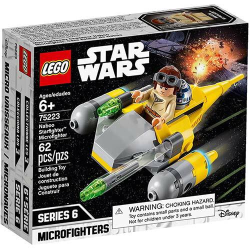 樂高LEGO 75223 STAR WARS 星際大戰系列 - Naboo Starfighter™ Microfighter - 限時優惠好康折扣