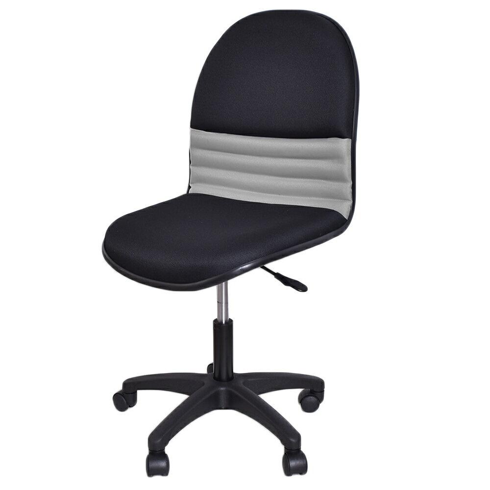 椅子/辦公椅/電腦椅 沙暴L型布面氣壓電腦椅 免組裝 凱堡家居【A07005】