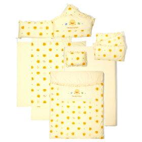 【特惠組】黃色小鴨嬰兒床+7件床被組(3色) 2