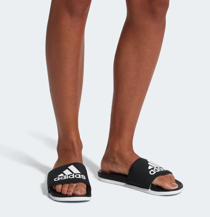 【H.Y SPORT】ADIDAS COMFORT SLIDES CG3427 運動拖鞋/休閒/軟底/拖鞋/愛迪達 黑色