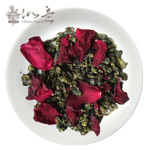 《沁意》台灣限量天然窨花!玫瑰烏龍茶(100g/盒)