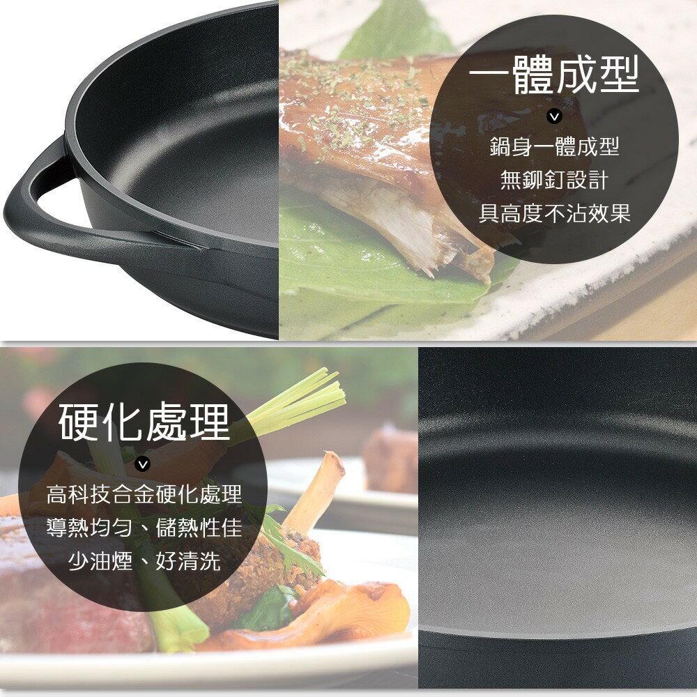 Perfect理想 日式黑金鋼鐵板燒(附蓋) 台灣製 IKH_90133   PQ Shop