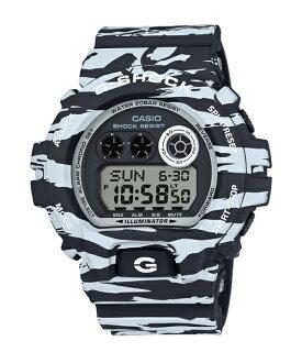 CASIO G-SHOCK GD-X6900BW-1斑馬紋數位流行腕錶/54mm