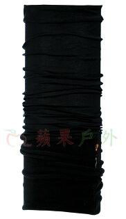 【【蘋果戶外】】BF100471西班牙BUFF魔術頭巾就是黑保暖頭巾Polartec保暖纖維脖圍