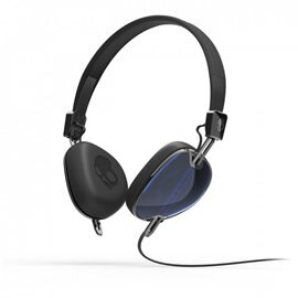 <br/><br/>  志達電子 S5AVFM-289 藍/黑 美國 Skullcandy NAVIGATOR 耳罩式耳機 for iPod/iPad/iPhone<br/><br/>
