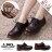 格子舖*【KMC03G】41-44加大尺碼 專櫃款3孔高質感全牛皮 漸層復古色澤 超耐磨透明牛筋底 馬汀靴 馬丁鞋 休閒皮鞋 2色 1