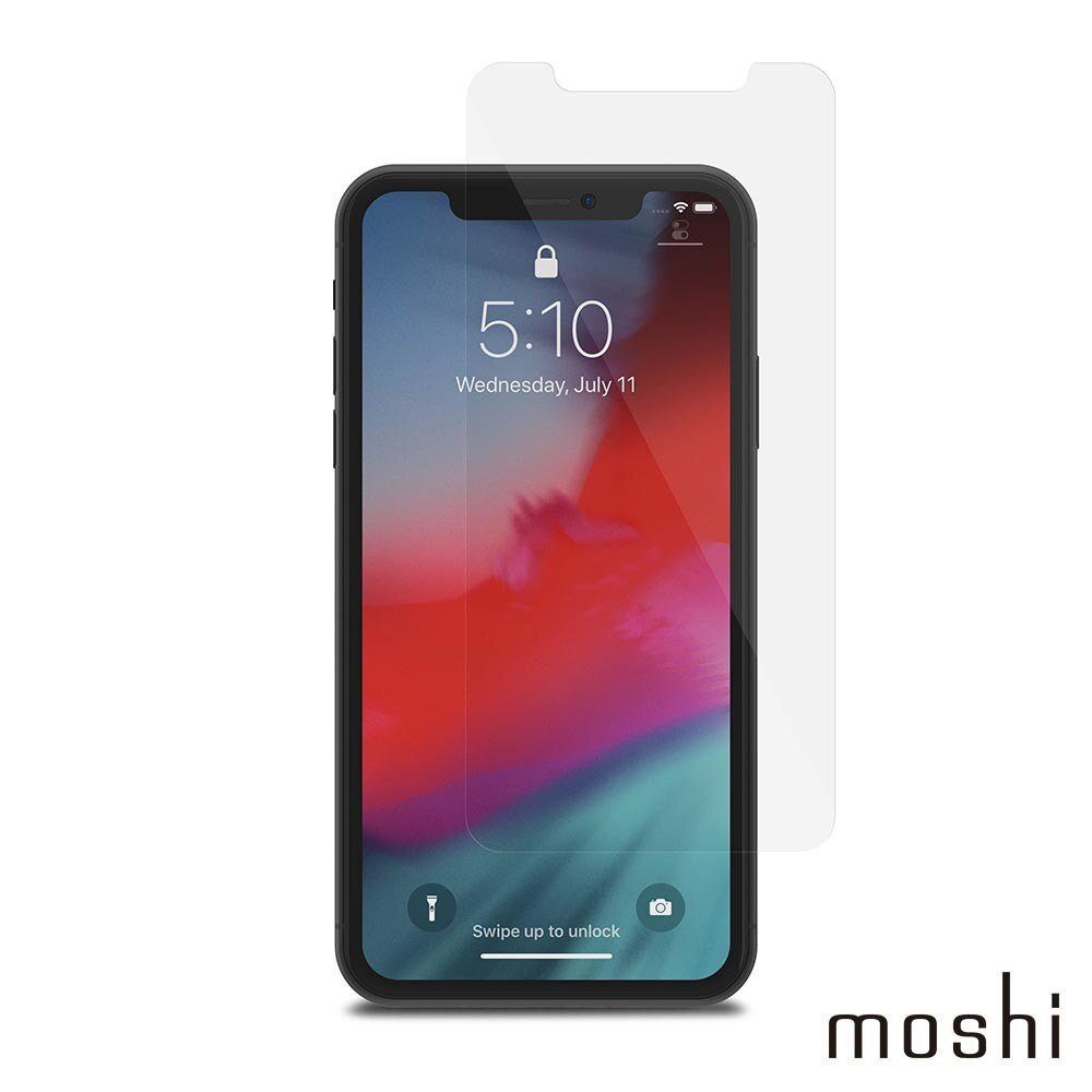 Moshi AirFoil Glass for iPhone 11 / XR 清透強化玻璃螢幕保護貼【6.1吋】非滿版