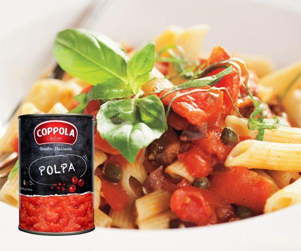 義大利Coppola柯波拉切丁番茄 Polpa / Chopped tomatoes 400g
