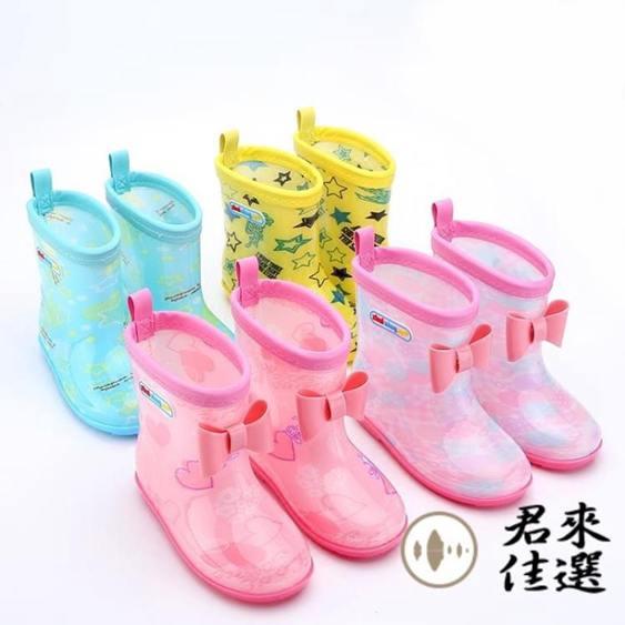 兒童雨靴防滑寶寶雨靴短筒男女童水鞋兒童雨鞋