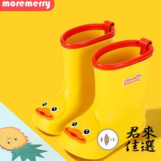 兒童雨鞋防滑防水雨靴可愛水靴男女童水鞋