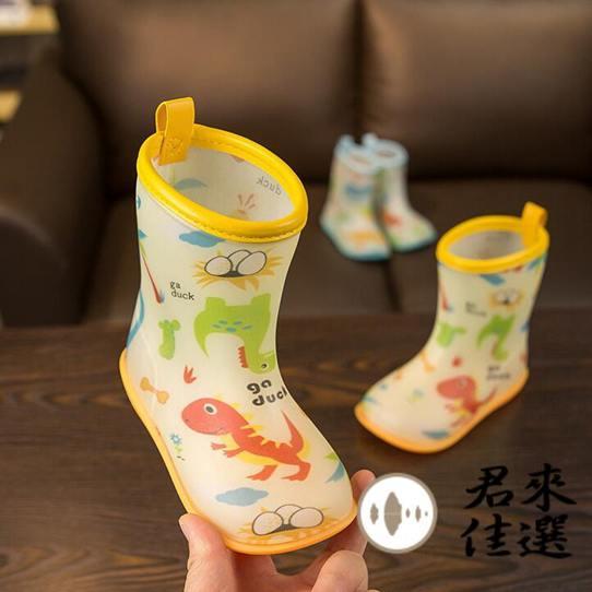兒童雨鞋寶寶雨靴男女童防滑小童水鞋時尚膠鞋