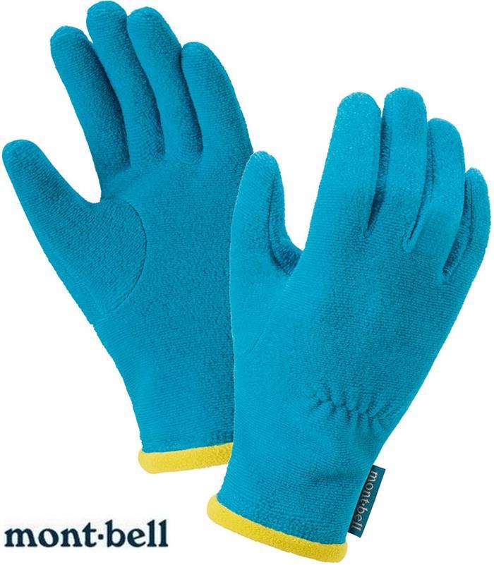 Mont-Bell 小朋友手套/兒童手套 CHAMEECE 刷毛內手套 保暖手套 1118222 TQ麻花藍 montbell/台北山水