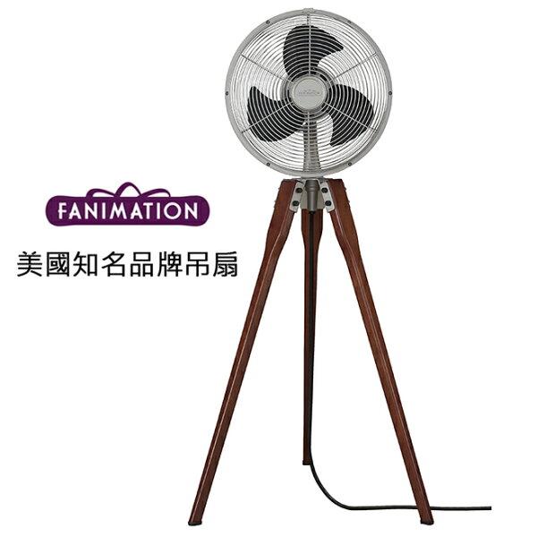 美國知名品牌吊扇專賣店:[topfan]FanimationArden14.53英吋立扇(FP8014SN)砂鎳色