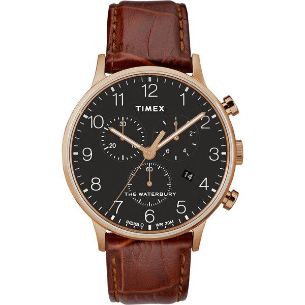 【go錶趣】TIMEX/天美時(TXTW2R71600) Waterbury系列 三眼計時 手錶/40mm 男錶