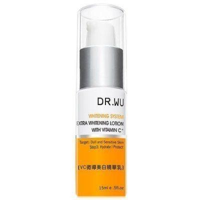 Dr.Wu VC微導美白精華乳(15ml) 盒裝效期2020【淨妍美肌】