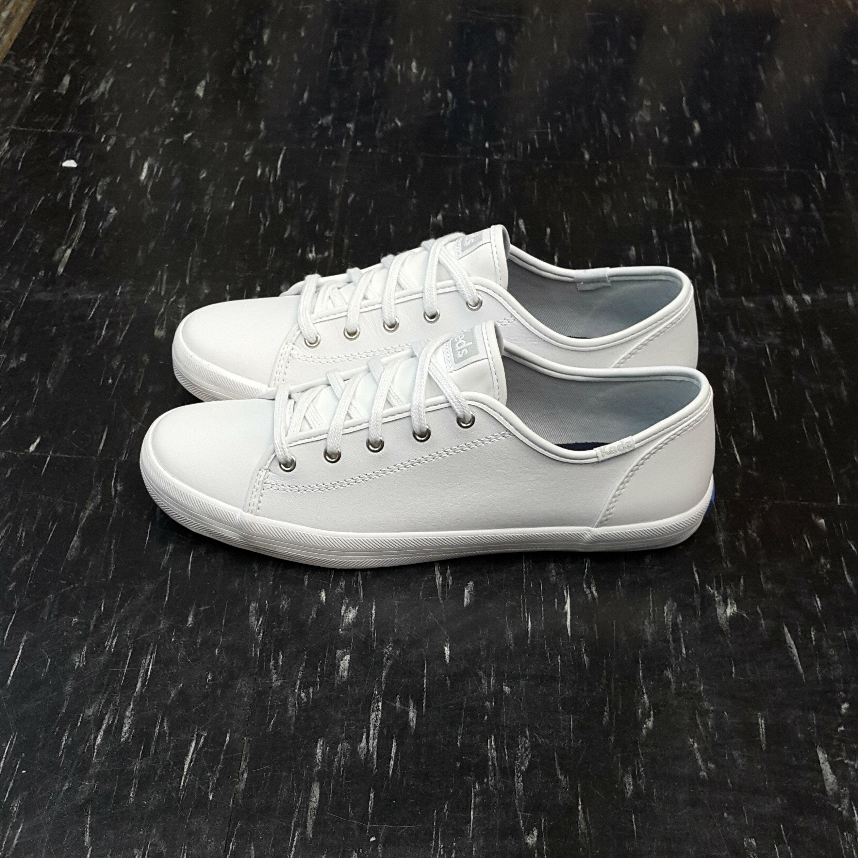 Keds 白色 全白 皮革 小白鞋 kickstart 大童鞋 基本款