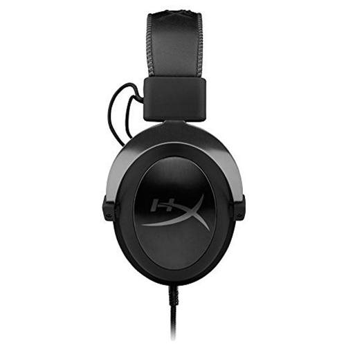 HyperX Cloud II Gaming Headset with 7.1 Virtual Surround Sound for PC/PS4/Mac/Mobile - Gun Metal 1