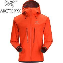 Arcteryx 始祖鳥Alpha SV 登山雨衣/風雨衣/Gore Tex/2/登山健行 頂級款 男 18082 主教紅