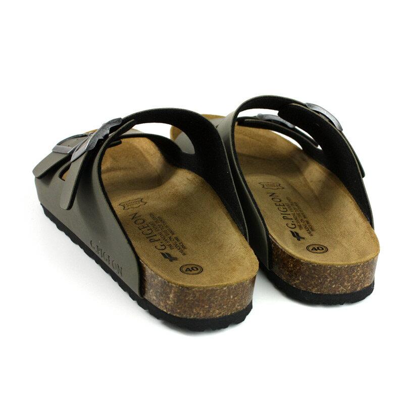 G.P 阿亮代言 拖鞋 勃肯鞋 墨綠色 男鞋 M371-60 no052 1