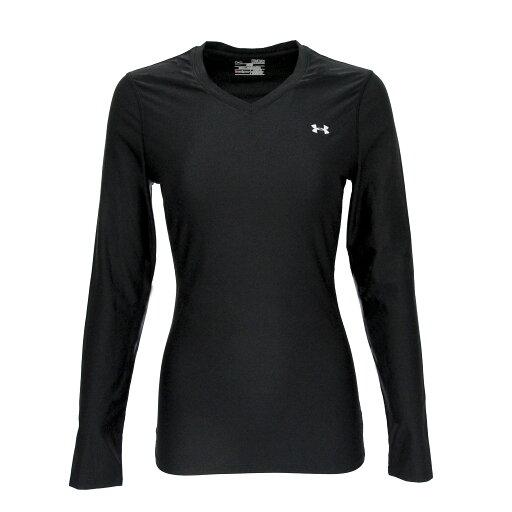 Under Armour Women's UA Authentic L/S V-Neck T-Shirt 36299bc8c17c4a25eef50dfc265a316b