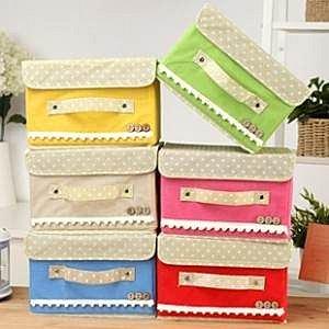 =優生活=《 超實用家居商品 》超級收納儲物箱 化妝品收納盒 有蓋收納箱 貼身用品收納 首飾盒 小號