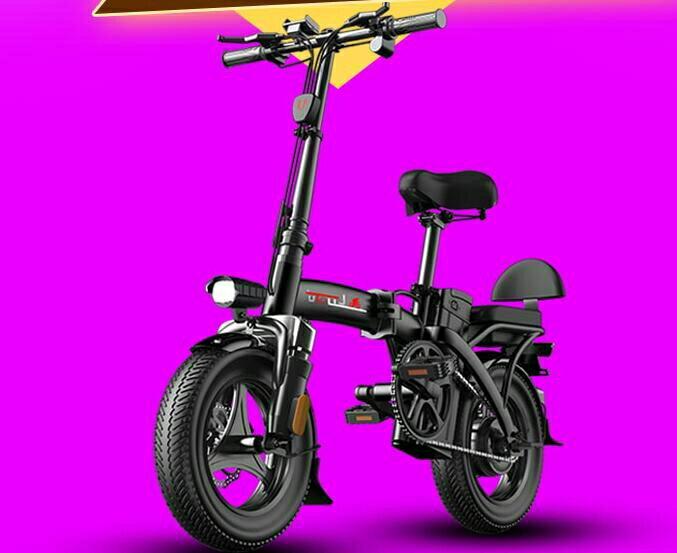 折疊電動車小型車超輕便攜女士新國標代駕王電車電動自行車 【快速出貨】yh