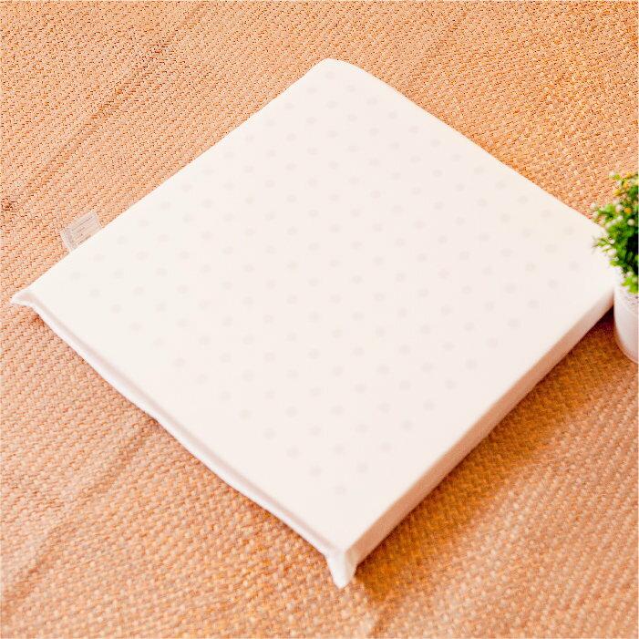 【名流寢飾家居館】100%純天然乳膠坐墊.單人坐墊.45x45cm.馬來西亞進口