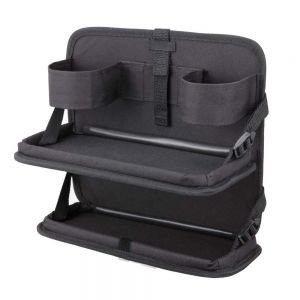 權世界@汽車用品 日本 NAPOLEX 多功能車內後座椅背兩層便利置物袋 JK-80