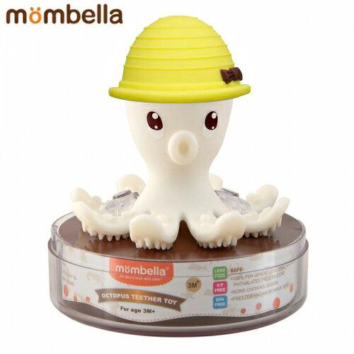 【安琪兒】【mombella】樂咬咬章魚固齒器-盒蓋裝(4色) 1