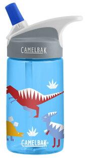 【【蘋果戶外】】美國Camelbak兒童彈跳式吸管水瓶恐龍世界400ml0.4L0.4公升登山水壺單車水壺