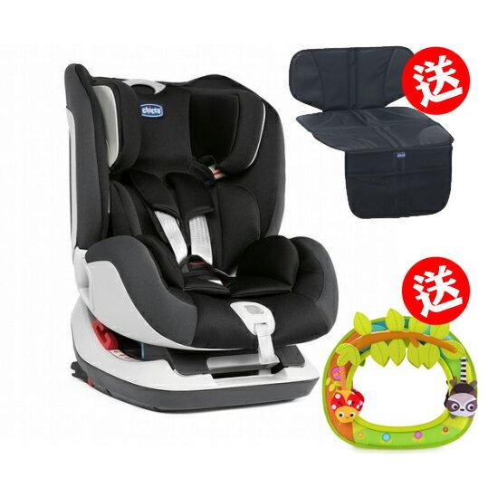 《chicco》Seat up 012 Isofix安全汽座-搖滾黑
