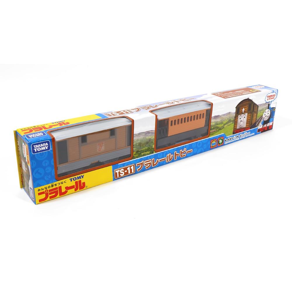 【預購】Plarail Takara Tomy 湯瑪士小火車 電動軌道火車系列 托比  鐵道王國 TS-11【星野日本玩具】