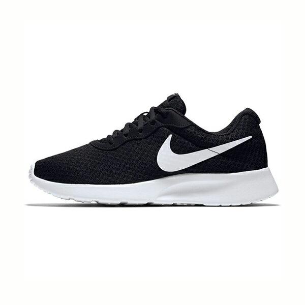 【NIKE】NIKE TANJUN 休閒鞋 輕量 透氣 黑 男鞋 -812654011