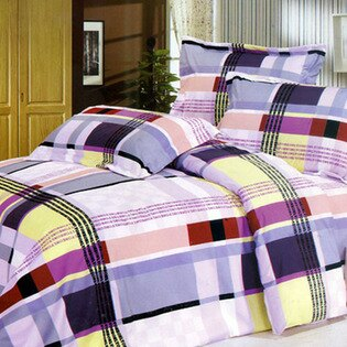 鑽石絨雙人加大床包涼被四件組✤朵拉伊露✤