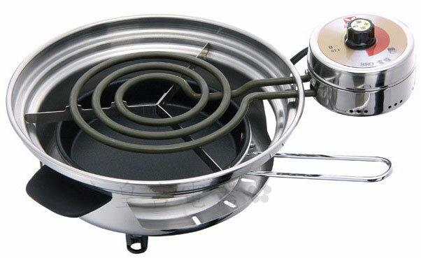 ✈皇宮電器✿ 9018萬國 白鐵電爐 9018 BBQ-S (小) 烤肉、泡茶、火鍋.一機多用~台灣製造~~