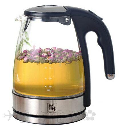✈皇宮電器✿ 鍋寶 耐熱透明玻璃材質1.8L養生快煮壺KT-1830-D  大容量 煮水、泡茶、輕鬆使用