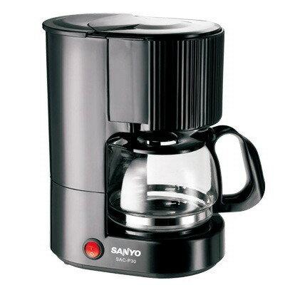 ✈皇宮電器✿SANYO 三洋 4人份咖啡機 SAC-P30 自動溫控保護裝置~永久型濾網