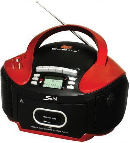 ?皇宮電器? 史密斯Smith手提CD/MP3/USB/SD/卡帶/搖控收錄放音機 A-501 ~~台灣製造
