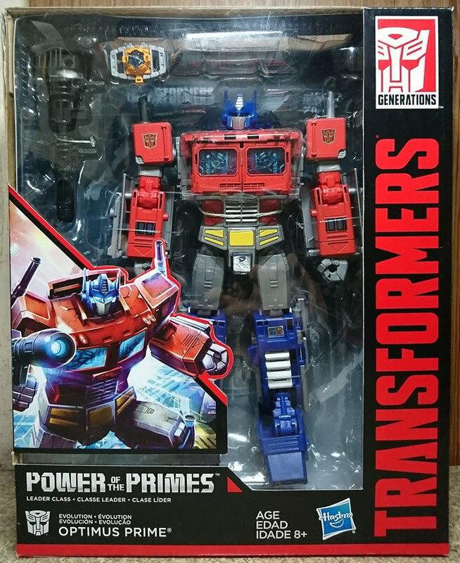 ☆勳寶玩具舖【現貨】變形金剛世代系列POTP無敵戰將 L級 柯博文 Optimus Prime