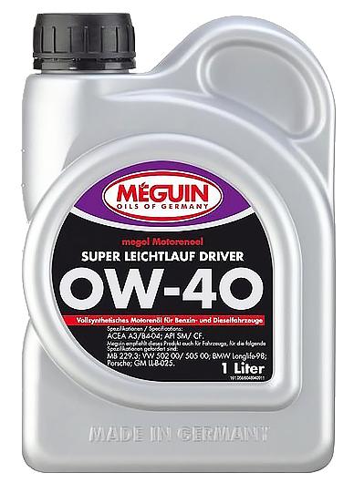 『油夠便宜』美嘉 Meguin Super Leichtlauf Driver(4894) 0W40 合成機油
