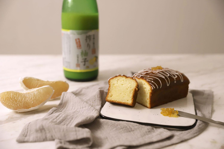 【拓樸本然Topo】柚香磅蛋糕(375g) 彌月蛋糕 100%柚子原汁+果肉