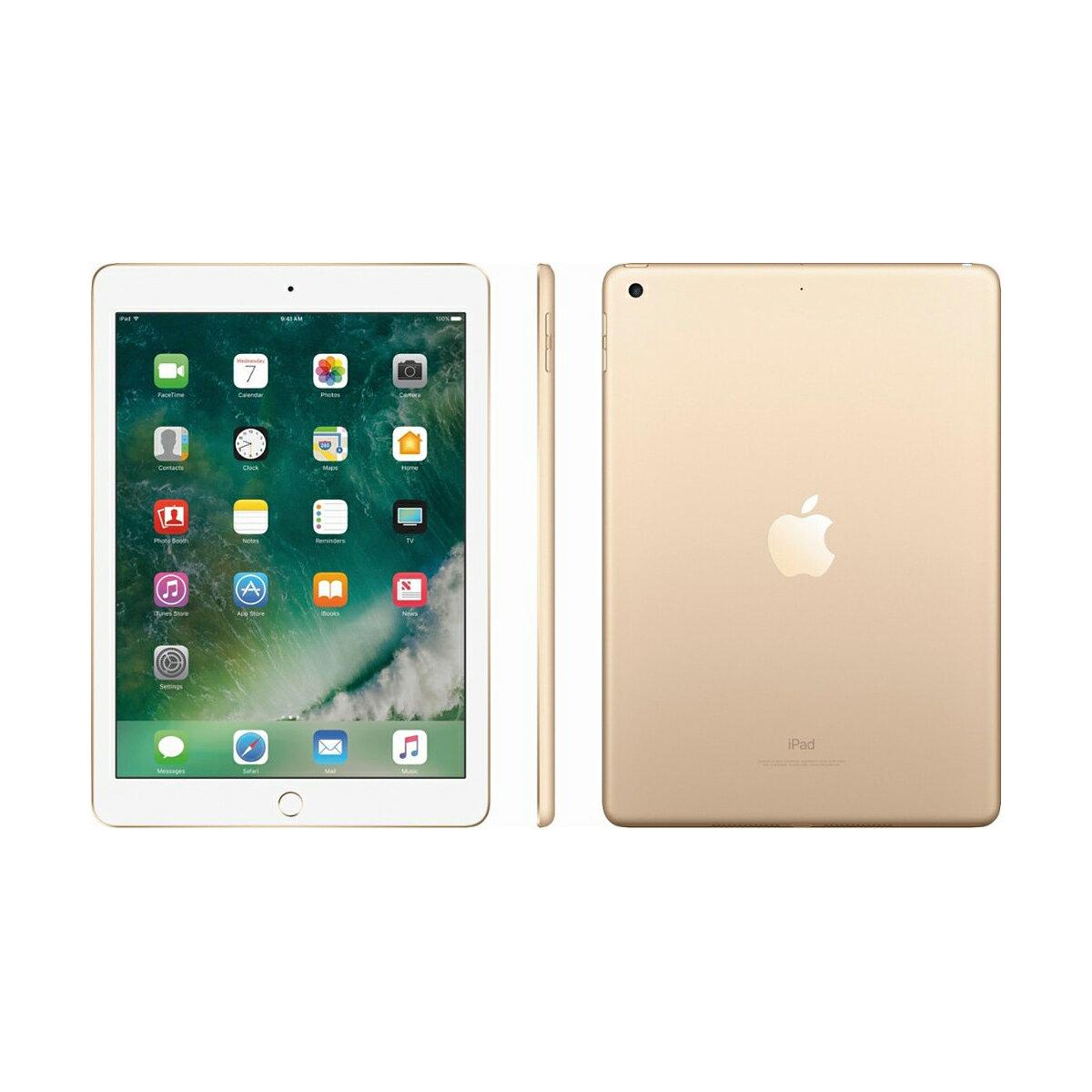 """Apple iPad 9.7"""" Retina Display 32GB Wi-Fi Multi-Touch Tablet 5th Gen MPGT2LLA - Gold 2"""