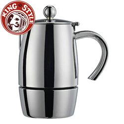 金時代書香咖啡 Tiamo 克立瑪10杯摩卡壺(excelsior)