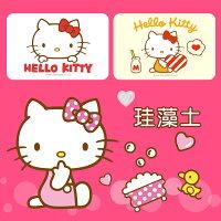 凱蒂貓週邊商品推薦到三麗鷗Sanrio Hello Kitty 彩繪款 珪藻土吸水地墊